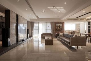 简约现代大三居室装修设计效果图