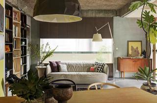 休闲北欧风情一居室公寓装潢设计