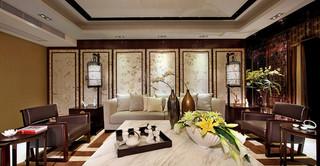 138平豪华中式新古典三居两厅美宅设计大全