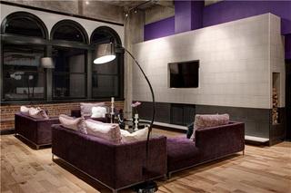 120平个性复古美式工业风混搭公寓装潢设计