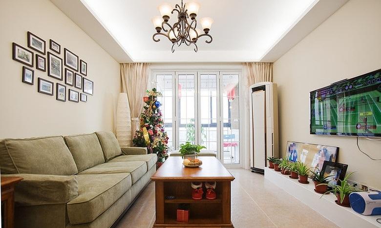宜家美式风格客厅装饰效果图大全