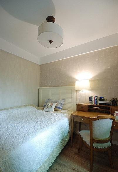简约韩式风格卧室装修效果图