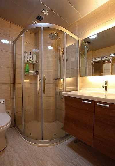 时尚现代卫生间 淋浴房装修效果图