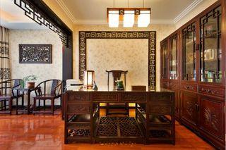 高档豪华中式风格别墅室内装修图片