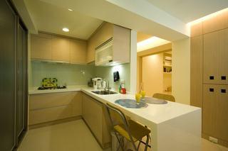 家装设计装修厨房简约风格装饰效果图