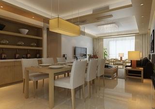 经典原木日式风格小户型家装设计效果图