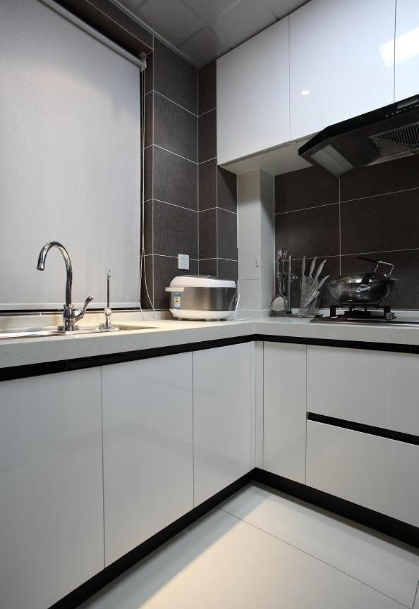 简约现代风格厨房设计装修效果图