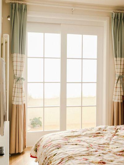 简约温馨韩式田园风卧室窗户效果图