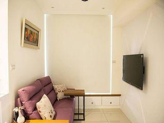 37平极简宜家现代风小户单身公寓效果图