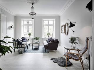 纯白典雅简约北欧风格单身公寓设计