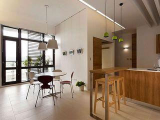 清新原木北欧风格一室两厅设计装修案例图