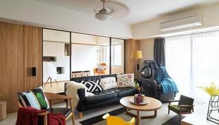 实木宜家北欧风格小户型公寓效果图