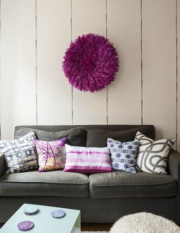 温馨简约北欧风情公寓懒人沙发效果图