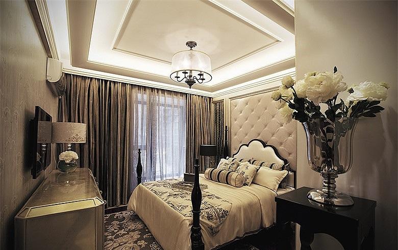 时尚现代奢华欧式卧室设计装修效果图