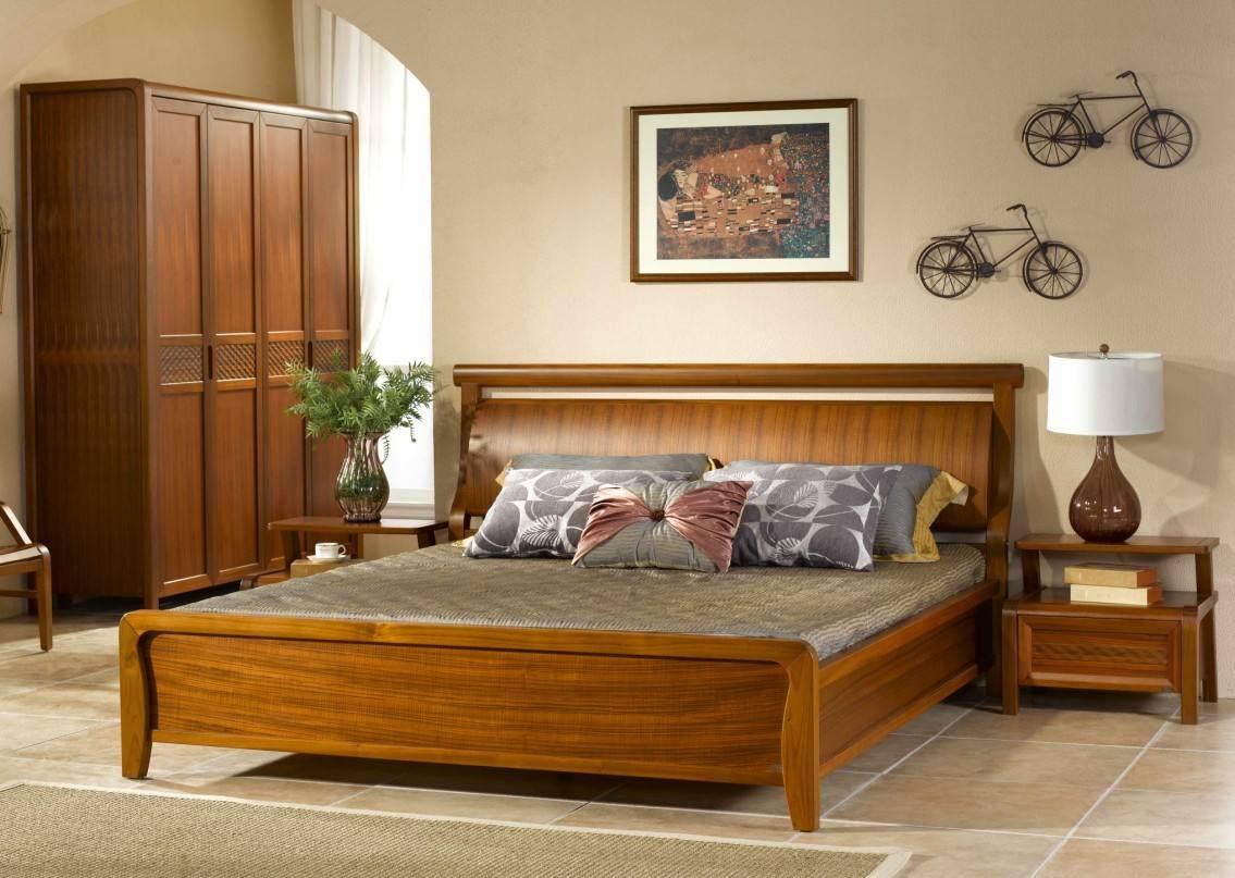 复古美式卧室纯实木家具欣赏大全