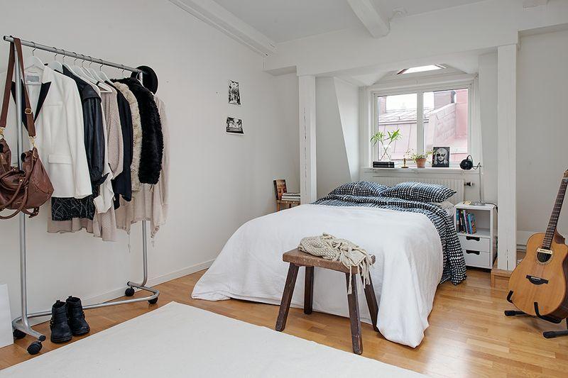 简洁北欧小户型公寓室内设计装潢图