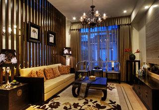 格调高雅新中式风格别墅室内装潢图