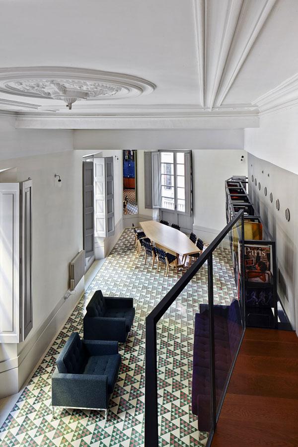 复古美式LOFT家居石膏吊顶效果图