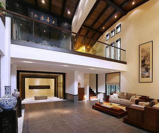 儒雅古典中式混搭别墅带庭院设计效果图