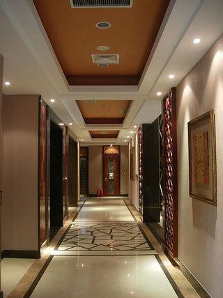 时尚大气现代中式混搭家装过道设计
