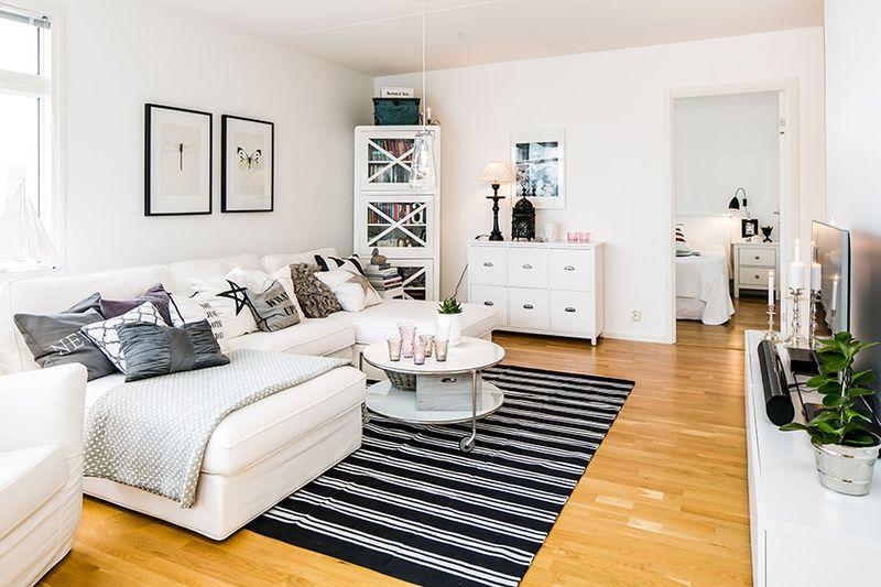 设计新颖北欧小户型公寓装修图例