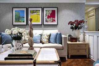 美式风格小户型室内装潢图