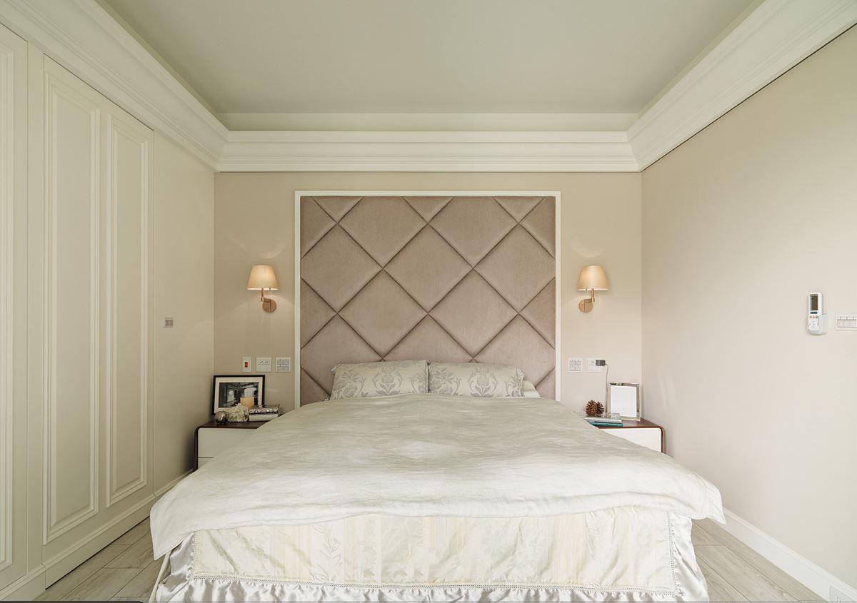 时尚裸色美式家居卧室设计大全