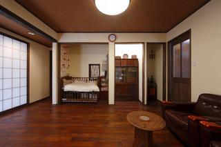 经典和风日式二居设计效果图