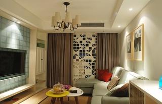 简约时尚宜家风格二居室装修效果图