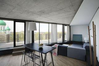 简约现代轻工业混搭不规则空间公寓设计