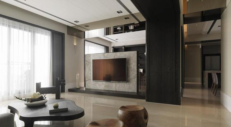 家装室内现代隔断设计装修效果图
