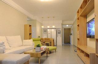 清新暖调宜家日式两居装修效果图