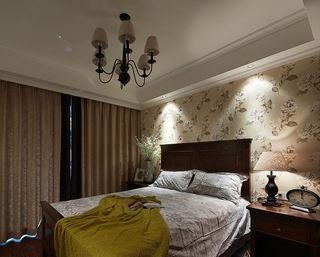 经典美式乡村风格卧室装饰图片