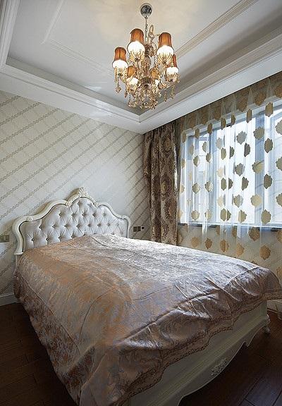 时尚典雅简欧卧室效果图大全