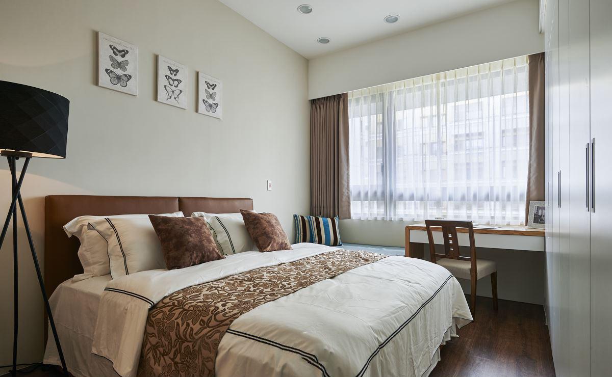 舒适简约美式装修卧室效果图大全