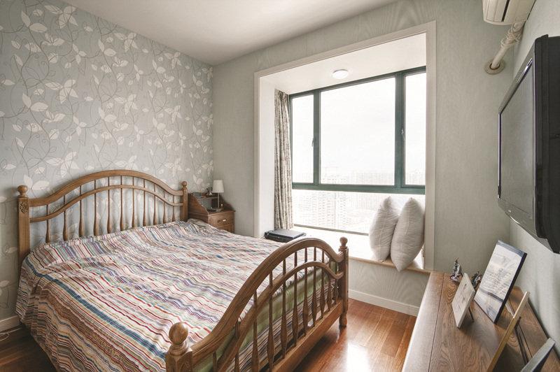 简欧复古风格卧室设计案例图片