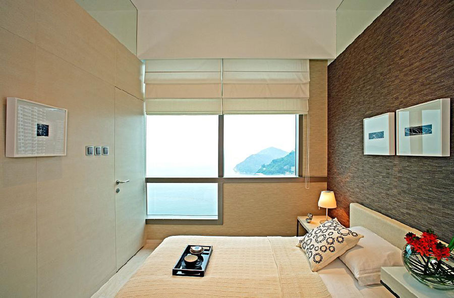 时尚简约现代风格侧卧窗户设计效果图