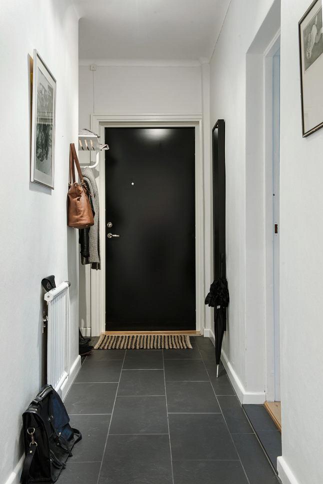 简约北欧风格入户玄关设计装修图