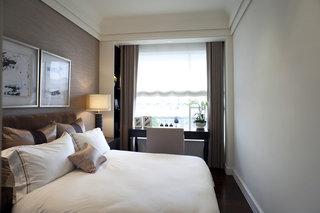 现代中式风格卧室装潢效果图