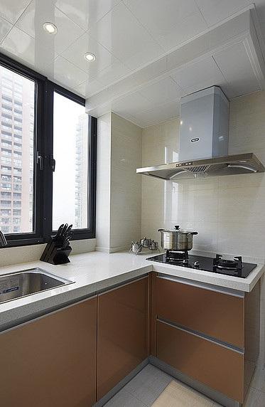 6平米高端现代厨房集成吊顶效果图