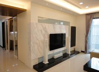 现代简约设计风格两室两厅精装样板房
