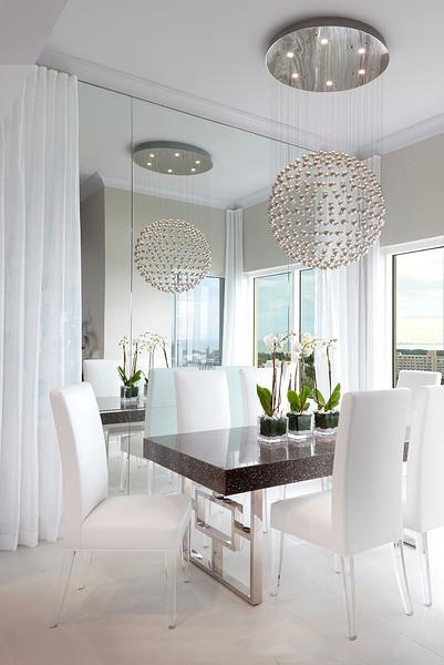 最新时尚现代一室两厅室内装潢图