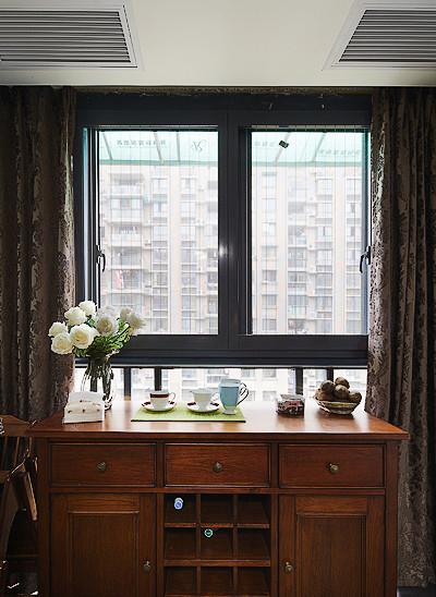 美式复古风格家装收纳柜装饰图