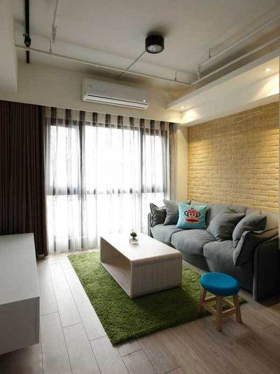 时尚简约客厅室内装修图片