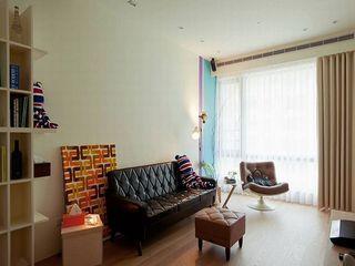 创意收纳设计现代小户型公寓室内装修图