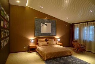 清雅简中式卧室设计装修效果图
