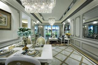 精致高贵现代欧式风格别墅家装案例图