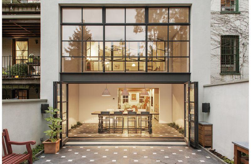清新复古宜家北欧风跃层公寓效果图