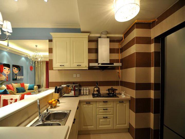开放式厨房装修设计做?vi设计组合注意事项图片