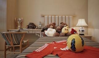 舒适简约中式儿童房效果图欣赏